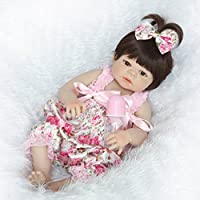 NPKDOLL Rebornベビー人形高ビニル22インチ55 cm Lifelike鮮やかな防水少年少女おもちゃrd55z024gw
