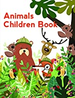 Animals Children Book: Cute Christmas Animals and Funny Activity for Kids (Animals in Color)