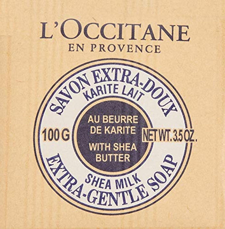 コンパニオンアブストラクト柱ロクシタン(L'OCCITANE) シアソープ ミルク 100g