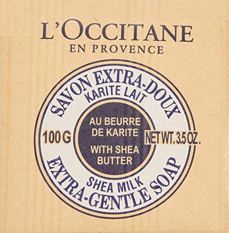 デジタルおなじみの派生するロクシタン(L'OCCITANE) シアソープ ミルク 100g