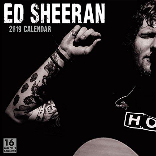 Ed Sheeran 2019 Calendar
