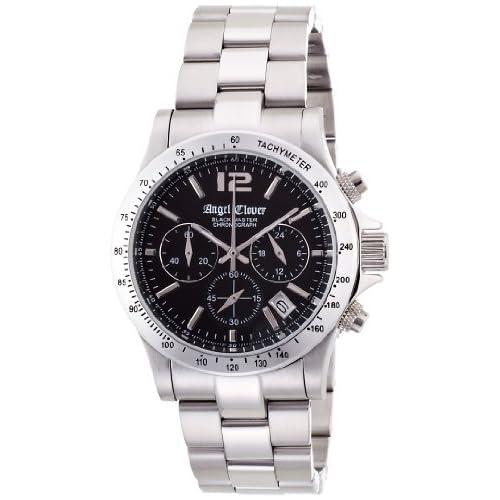 [エンジェルクローバー]Angel Clover 腕時計 ブラックマスター ブラック文字盤  デイト 10気圧防水 クロノグラフ BM41SBK メンズ