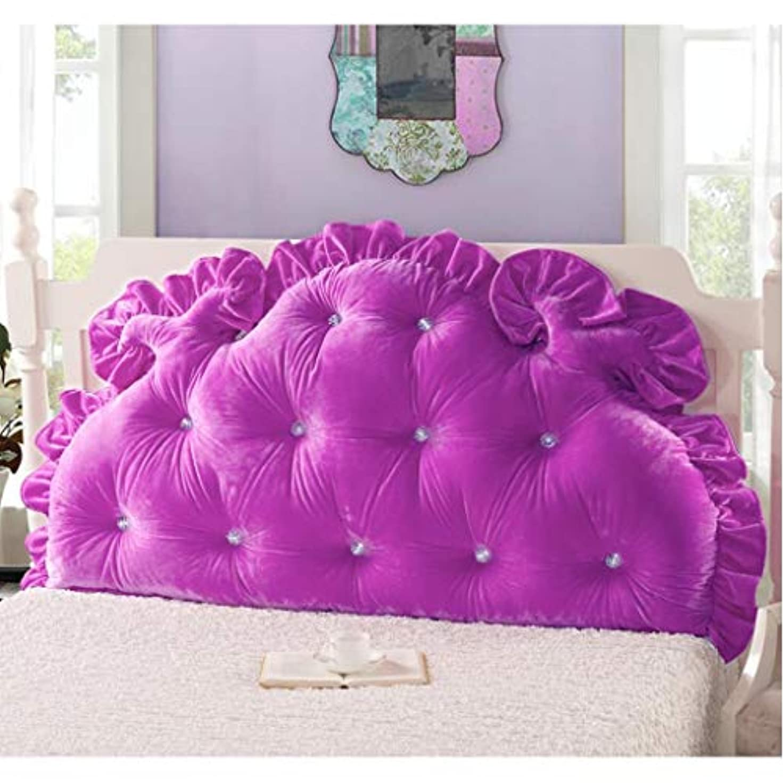 宇宙のラフレシアアルノルディ司令官ベッドサイドのソファー大きなクッションソフトバッグプリンセス風ダブルバックマルチサイズスタイルオプションの枕ベッドバック JAHUAJ (Color : A, Size : 180*85cm)