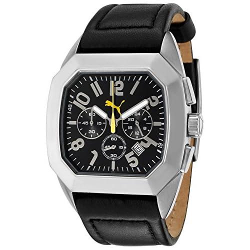 [プーマ] PUMA ドイツ製腕時計 クロノグラフ 電池なし PU000361003(並行輸入品)