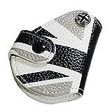 【NextBlue】BMW MINI ミニクーパー 専用 革 スマートキー ケース 鍵 カバー (ユニオンジャック ブラック)