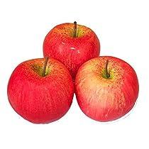 インテリア ディスプレイ用 果汁 0% りんご 薄紅色 淡い (3個セット)
