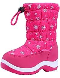 e353851fe42b1  snofiy  スノーブーツ 女の子 ブーツ キッズ ジュニア 子供靴 可愛い 雪靴 ボア 保温