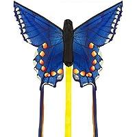 HQ Kites Swallowtail Blue R Butterfly Kite [並行輸入品]