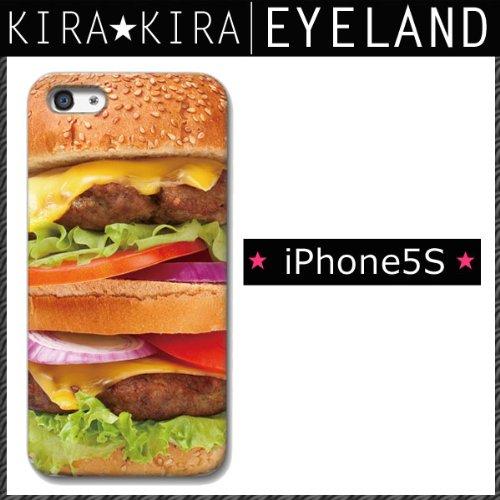 【対応機種:iPhone5S/iPhone5】 ≪iPhone6/iPhone5S/iPhone5C≫リアル☆ハンバーガー/グルメ/チーズ/アイフォンケース/iphone5s/iphone5c/スマホケース