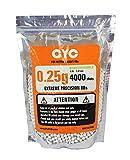CYC精密バイオBB弾 0.25g 4000発入(生分解性) 1袋