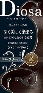 パオン ディオーサ クリーム 3 明るいライトブラウン 40g+40g 髪の美容液10g