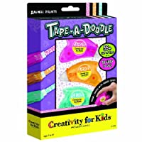 Creativity for Kids Tape-a-Doodle Animal Prints [並行輸入品]