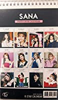 Twice 2019-2020 Photo Desk Calendar フォトデスクカレンダー+ 1 Lファイルホルダー+ 5透明カード (SANA)