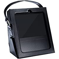 Hzjundasi Amazon Echo Show 保護カバー シェルテイクアウェイボックスサポートフレーム黒