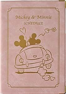 デルフィーノ 2016年手帳 Disney ヴィンテージ ミッキー&ミニー ドライブ  【2015年12月始まり】 サンドベージュ B6サイズ DZ-76982
