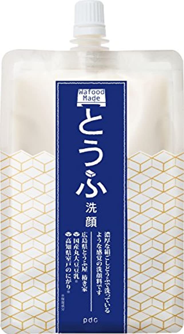 くつろぐ細分化するプロフェッショナルワフードメイド とうふ洗顔170g