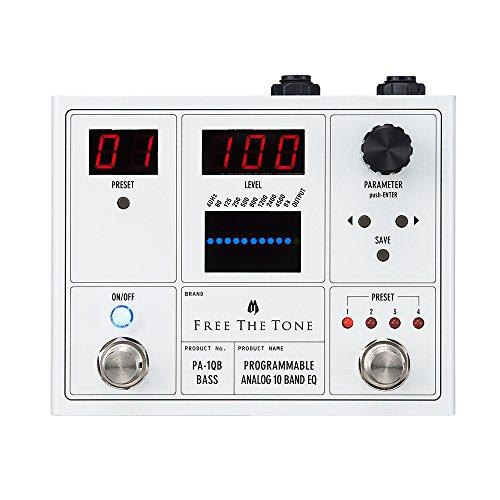 [해외]Free The Tone PA-1QB PROGRAMMABLE ANALOG 10 BAND EQ베이스 이펙터/Free The Tone PA-1QB PROGRAMMABLE ANALOG 10 BAND EQ Bass Effector