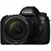 Canon デジタル一眼レフカメラ EOS 5D MarkIV レンズキット EF24-70 F2.8L II USM 付属 EOS5DM4-2470LIILK
