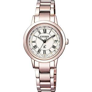 [シチズン]CITIZEN 腕時計 xC クロスシー ティタニアライン ハッピーフライト エコ・ドライブ電波時計 サクラピンク EC1144-51W レディース