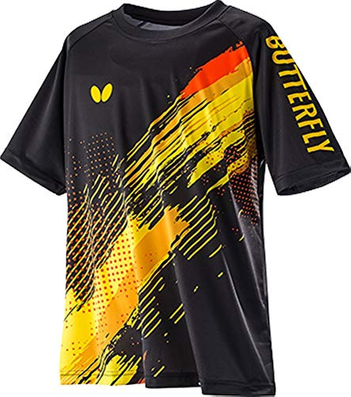 バタフライ(Butterfly) 卓球 Tシャツ 半袖 ネオラリー 男女兼用 45360