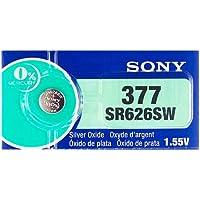 [ソニー] SONY SR626SW 時計用 逆輸入ボタン電池 1シート(5個入り)