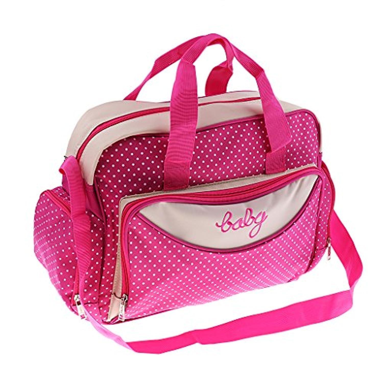 perfk マザーズバッグ 大容量 軽量 多機能 ショルダーストラップ付 出産祝い 旅行 バック 全3色 2サイズ