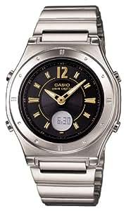 [カシオ]CASIO 腕時計 WAVE CEPTOR ウェーブセプター タフソーラー 電波時計  MULTIBAND 6 LWA-M141D-1AJF レディース
