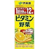 伊藤園 ビタミン野菜 200ml 紙パック48本入