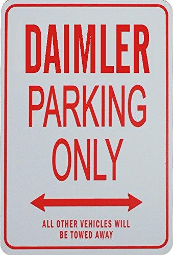 ダイムラー駐車場サイン DAIMLER Parking Only Sign