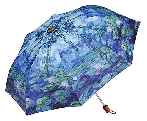 [マスターピース コレクション] 折りたたみ傘/モネ 睡蓮 CSE-1461
