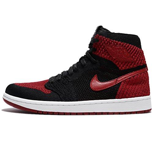 (ジョーダン) エアジョーダン 1 レトロ HI フライニット メンズ バスケットボール シューズ Air Jordan 1 Retro HI Flyknit Banned Bred 919704-001 [並行輸入品], 26.5 CM (US Size 8.5)