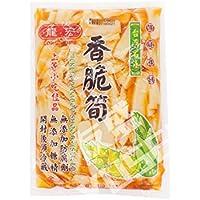 台湾産 龍宏香脆筍(味付け筍)600g