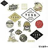 TCSS ステッカーパック ASTICK16 SLED STICKERS( ワンサイズ,ワンカラー)