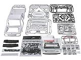 Killerbody 1/10 トヨタランドクルーザー 70 ABS樹脂製ハードボディ DIYバージョン ホワイト 48601
