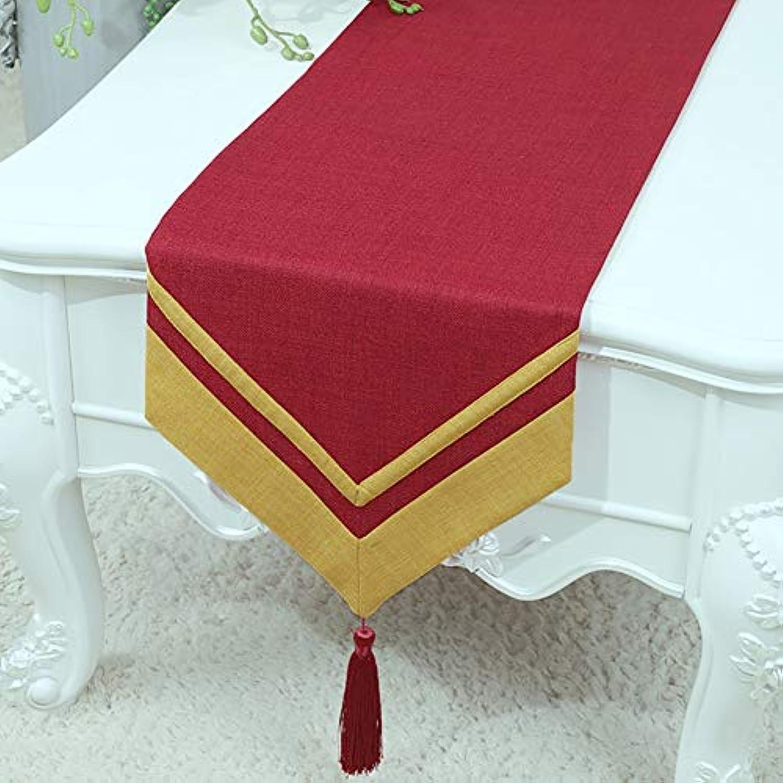 テーブルランナー ホームデコレーション 工芸品 おしゃれ 結婚式 パーティー エレガント きらきら (Size : 33*230cm)