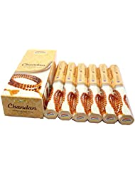 Govinda ® Incense – Chandan – 120 Incense Sticks、プレミアムIncense、Masalaコーティング