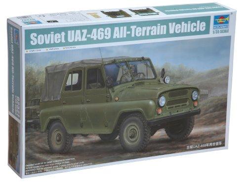 1/35 ソビエト軍 UAZ469ATV ツンドラ