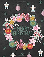 Merry Christmas: Christmas Cookies Holiday Planner Notebook Organiser 2019 with Christmas Quotes Gift Planner Address Book Tracker, Shopping List Christmas Notebook 3 Months Chaos Coordinator Student Planner