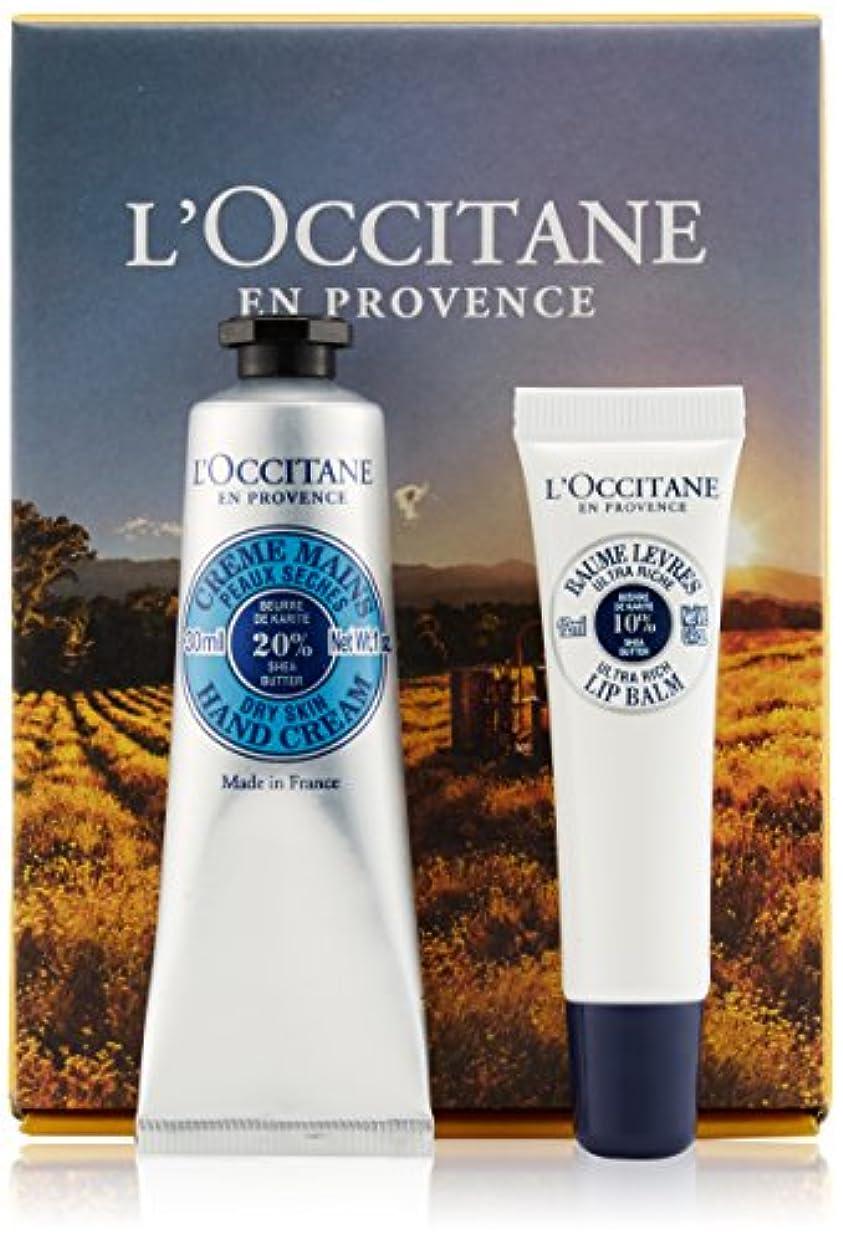 熱心なアーチ換気するロクシタン(L'OCCITANE) シア ハンド&リップバーム