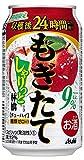 【季節限定】アサヒもぎたてしゃりっと林檎缶 [ チューハイ 350ml ]