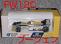 ONYX 1/43ウイリアムズ ルノーFW12C ブーツェン 1989 WILLIAMS