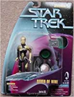 5 Seven of Nine Action Figure As Featured in the Star Trek: Voyager From the Episode The Gift - Warp Factor Series 5