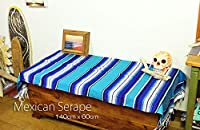 RUG&PIECE Mexican Serape made in mexcico ネイティブ メキシカン サラペ メキシコ製 (rug-6389)