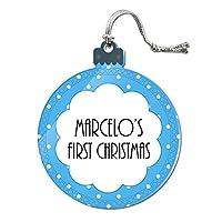マルセロ - Baby初クリスマス - アクリルオーナメント