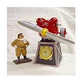 スタジオジブリグッズ 紅の豚/サボイアS-21置時計