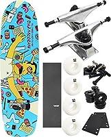 "All I NeedスケートボードゲストFilmer Cruiserスケートボード7.8"" X 32"" Complete Skateboard–7項目のバンドル"