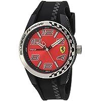 レッド メンス アナログ カジュアル クォーツ Ferrari 時計 RedRev T ???? 0830335