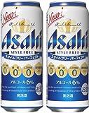アサヒ スタイルフリー パーフェクト 缶 (500m× 24本) × 2ケース