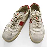 (プラダ) PRADA スポーツ レザー スニーカー 7 26cm ローカット 白赤 シューズ 靴 メンズ (中古)