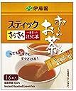 伊藤園 おーいお茶 さらさらほうじ茶 0.8g×16本 (スティックタイプ)